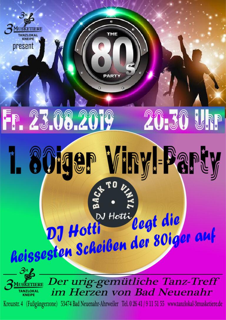80er Party 23.08.2019_A4
