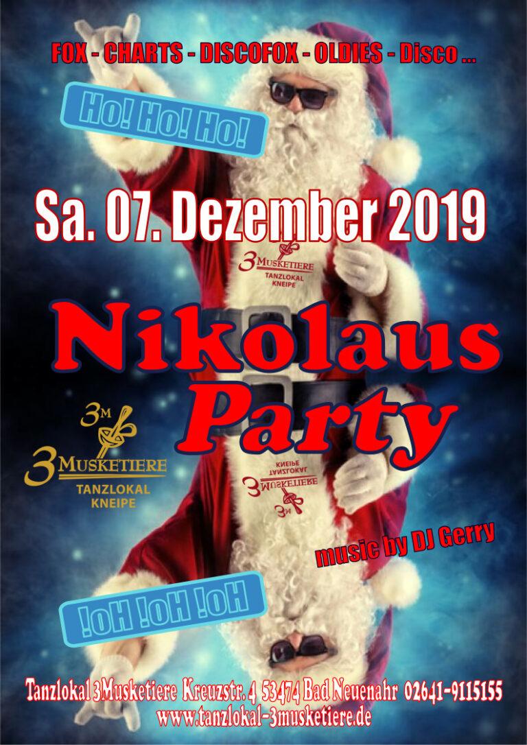 Nikolausparty_A4_2019